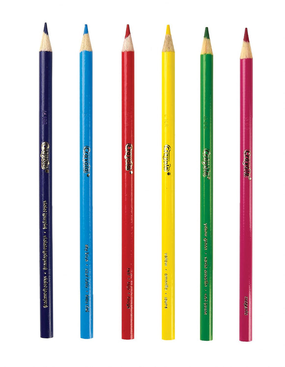 CRAYOLA® Long Colored Pencil Sets – 50 per set