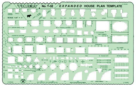 Timely® Expanded House Plan Template
