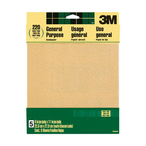 3M™ Aluminum Oxide Sandpaper - Modern School Supplies, Inc.