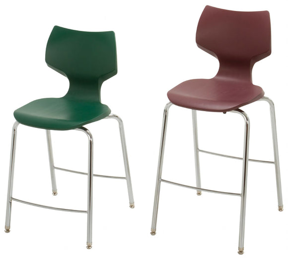 Smith System™ Flavors™ Fixed Height Stools - Modern School Supplies, Inc.