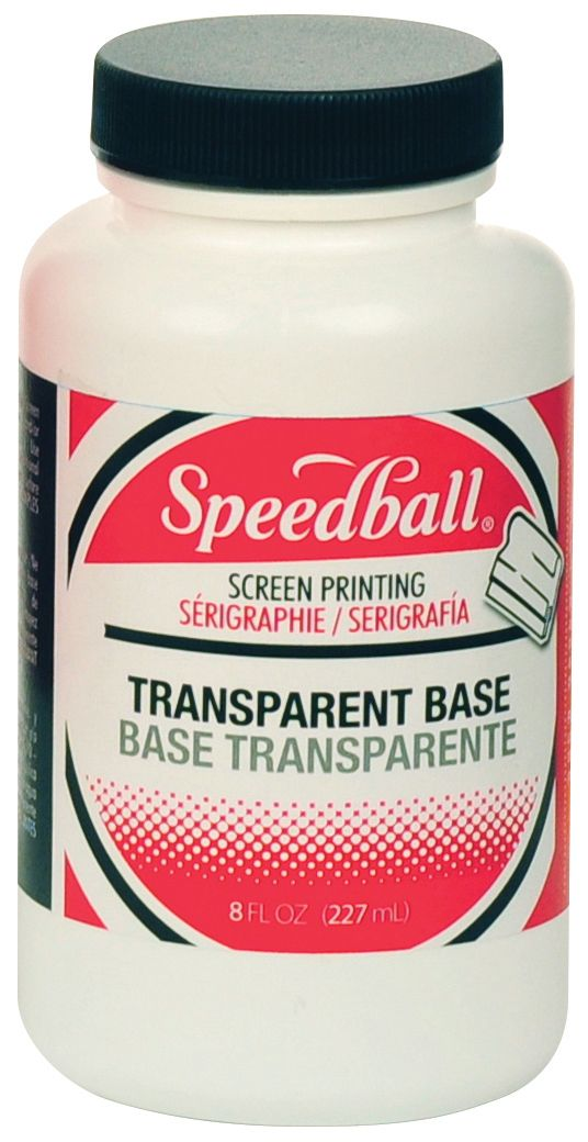 Speedball® Fabric/Acrylic Transparent Base - Modern School Supplies, Inc.