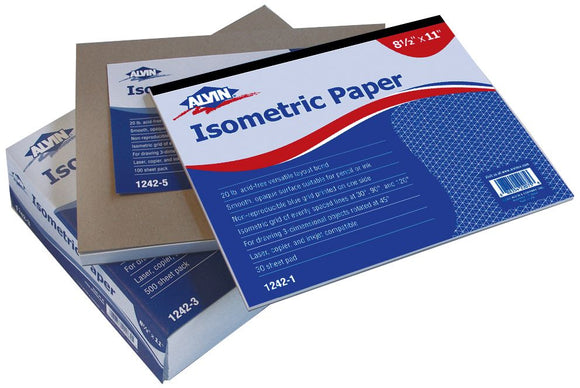 Alvin® Isometric Papers - Modern School Supplies, Inc.