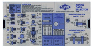 ALVIN® Screw Data Selector Chart