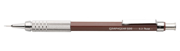 PENTEL® GraphGear 500™ Automatic Drafting Pencil – .3mm