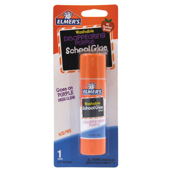 Elmer's® Washable Disappearing Purple Glue Sticks .21oz