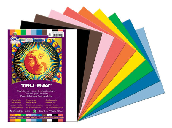 Pacon® Tru-Ray Heavyweight Construction Paper