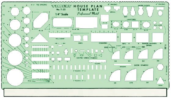 Timely® Professional House Plan Templates