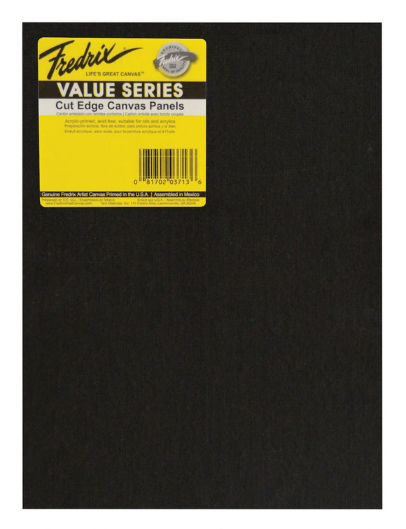 Fredrix® Value Series Cut Ege Canvas Panels - Modern School Supplies, Inc.