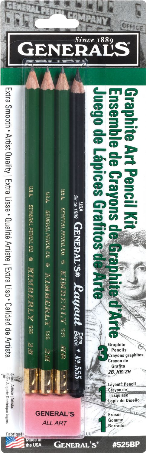 General's® Graphic Art Pencil Kit - Modern School Supplies, Inc.