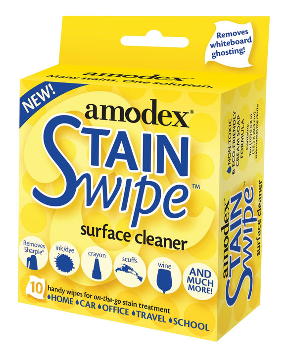 Amodex® StainSwipe Surface Cleaner Wipes - Modern School Supplies, Inc.