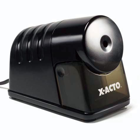 X-ACTO® PowerHouse Heavy-Duty Commercial Grade Electric Pencil Sharpeners – Black