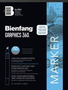 "Bienfang® Graphics 360™ Layout Paper Pad, 9"" x 12"" - Modern School Supplies, Inc."