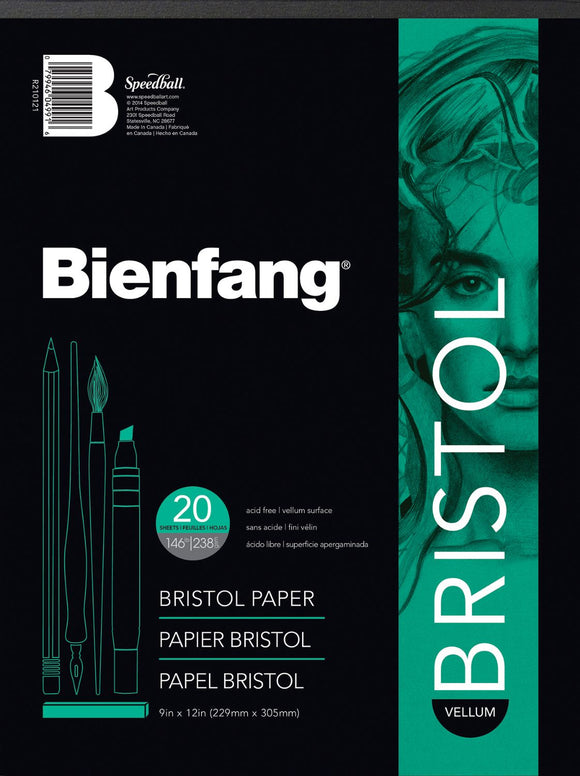 Bienfang® 11 x 14 Vellum Finish White Drawing Bristol Board Pads - Modern School Supplies, Inc.