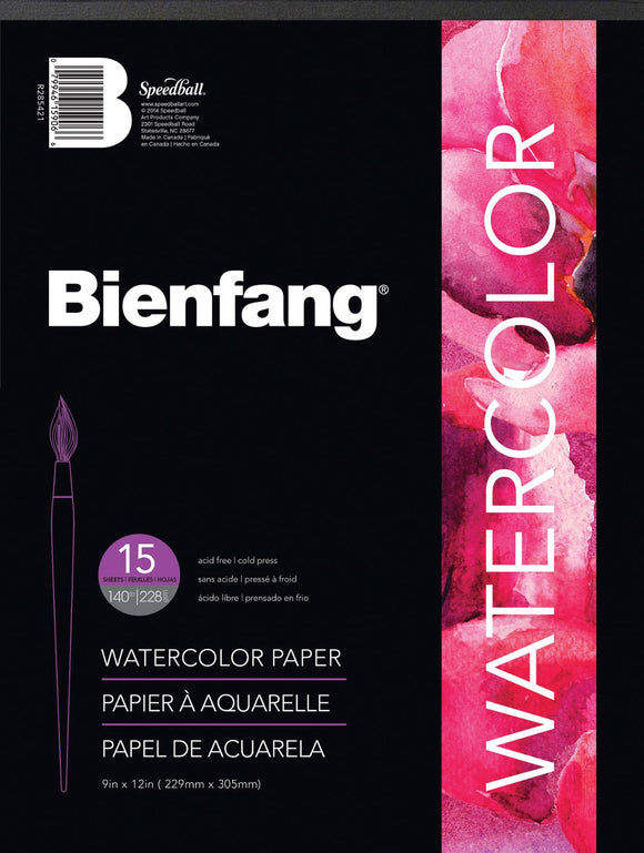 Bienfang® Watercolor Paper Pads - Modern School Supplies, Inc.