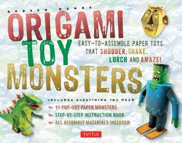 TUTTLE® Origami Toy Monsters – CLEARANCE