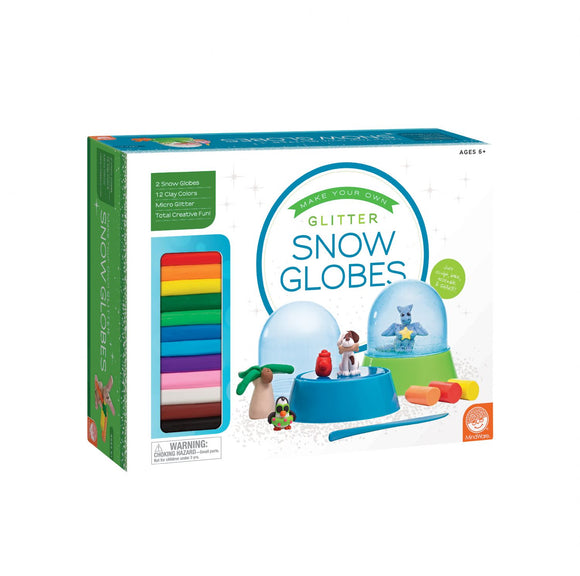 Mindware® Make Your Own Glitter Snow Globes