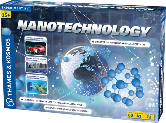 THAMES & KOSMOS® Nanotechnology Experiment Kit – Clearance