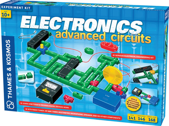 THAMES & KOSMOS® Electronics: Advanced Circuits Experiment Kit - Modern School Supplies, Inc.