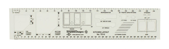 Alvin® Kitchen Layout Template - Modern School Supplies, Inc.