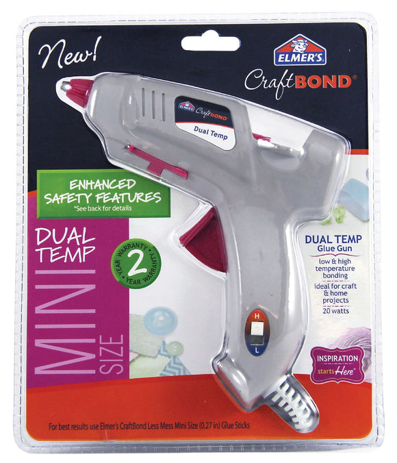 Elmer's® CraftBond  Mini Dual Temp Hot Glue Gun