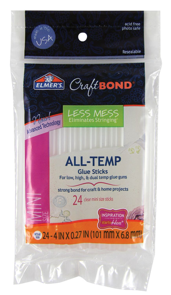 ELMER'S® CraftBond Mini Hot Glue Sticks