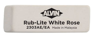 ALVIN® Rub-Lite White Rose Soft Erasers Class Pack