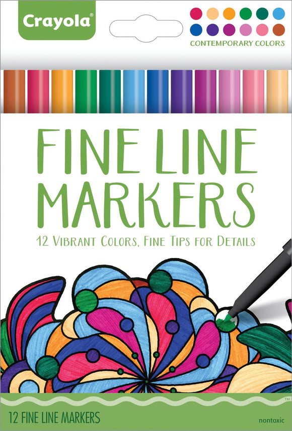 Crayola® Aged Up Fine Line Markers