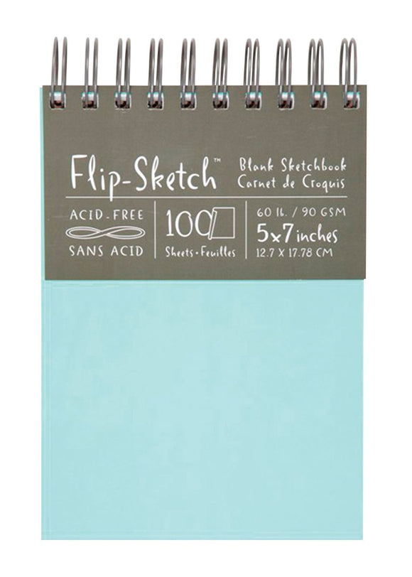 Global Art Hand Book Journal Co.™ Flip-Sketch™ Wire-Bound Sketchbooks - Modern School Supplies, Inc.
