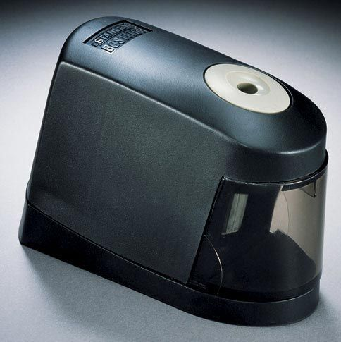 Stanley®  Battery Pencil Sharpener - Modern School Supplies, Inc.