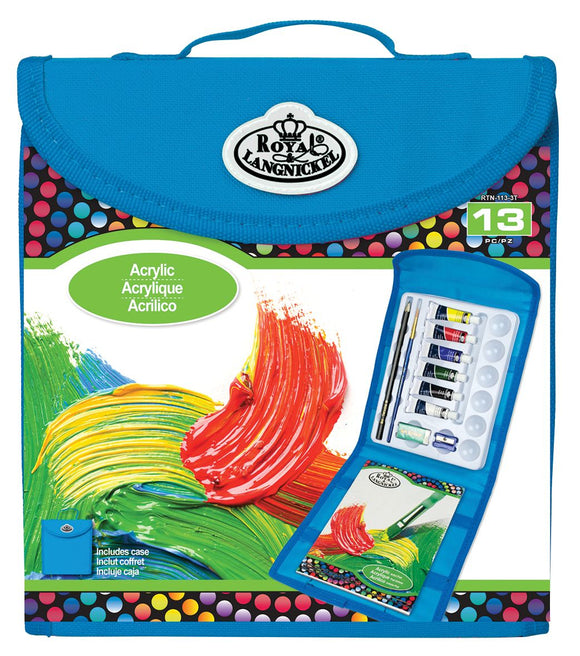 Royal & Langnickel® Keep N' Carry Acrylic Painting Set