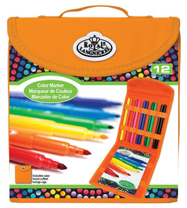 Royal & Langnickel® Keep N' Carry Color Marker Set
