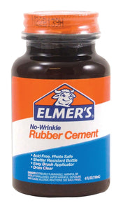 Elmer's® No-Wrinkle Rubber Cement