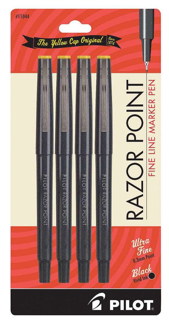 Pilot® Razor Point Fine Line Marker Pen Set