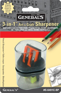 General's® 3-in-1 Sharpener - Modern School Supplies, Inc.