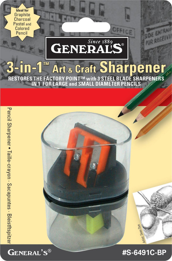 General's® 3-in-1 Sharpener