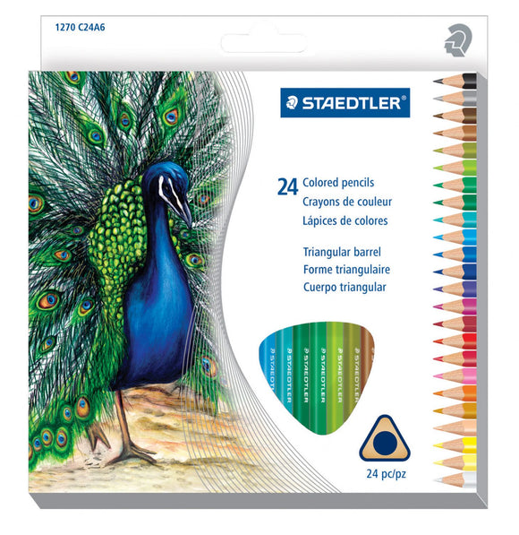 Staedtler® Triangular Colored Pencils - Modern School Supplies, Inc.