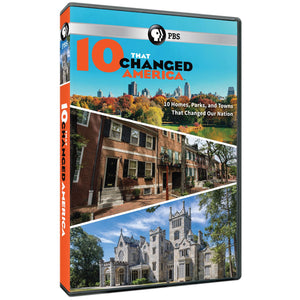PBS® 10 That Changed America DVD
