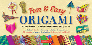 Tuttle Tuttle  Fun & Easy Origami Kit