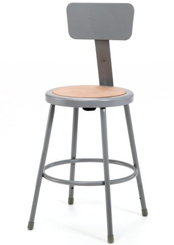 NATIONAL PUBLIC SEATING 6200 Series Heavy-Duty Steel Stools