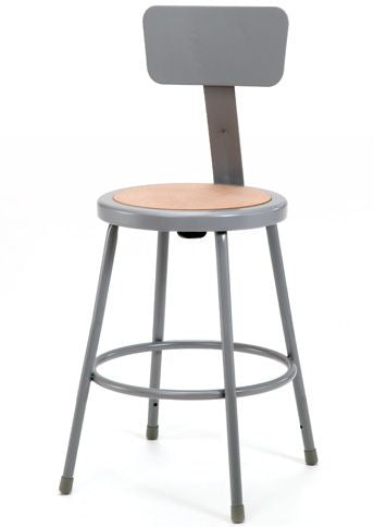 NATIONAL PUBLIC SEATING 6200 Series Heavy-Duty Steel Stools - Modern School Supplies, Inc.