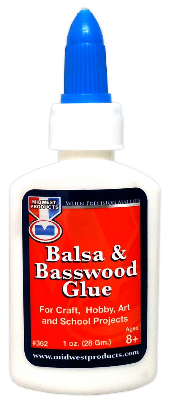 MIDWEST® Balsa & Basswood Glue - Modern School Supplies, Inc.