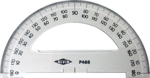 "ALVIN® Semi-Circular 6"" Protractors - Modern School Supplies, Inc."