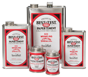 Best-Test© Can Paper Cement 16oz - Modern School Supplies, Inc.