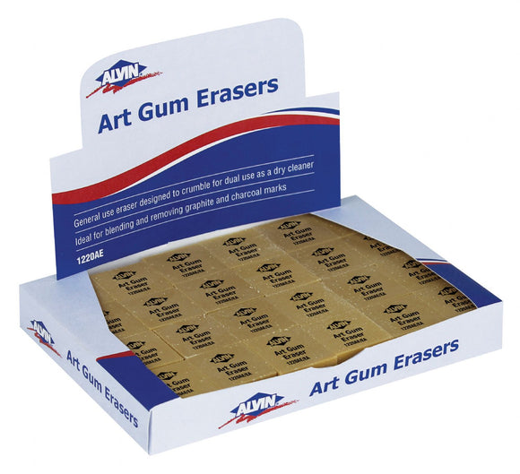 Alvin® Art Gum Erasers - Modern School Supplies, Inc.