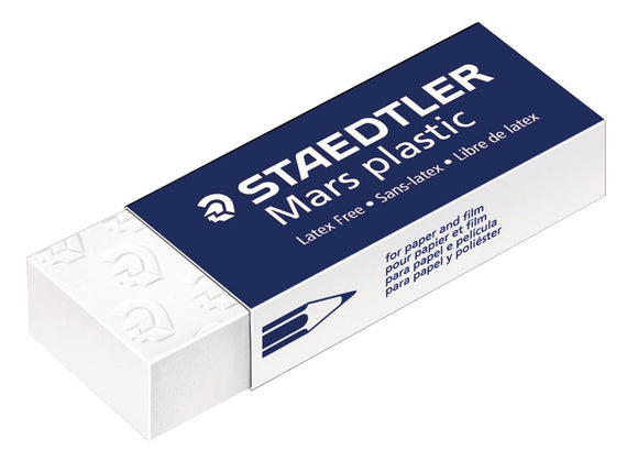 STAEDTLER® Mars® Plastic Erasers for Pencil & Graphite - Modern School Supplies, Inc.