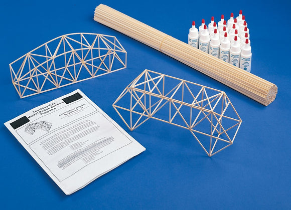 MIDWEST® Basswood Bridge Building Kit - Modern School Supplies, Inc.