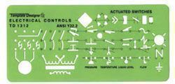 Rapidesign® Electrical Controls Template - Modern School Supplies, Inc.