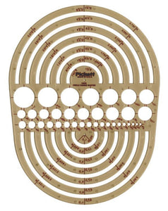 Pickett® Circle Radius Master Template