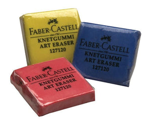 Faber-Castell® Color Kneaded Eraser Display