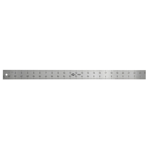 ALVIN® Rubberized Slip-resistant Aluminum Inking Rulers - Modern School Supplies, Inc.